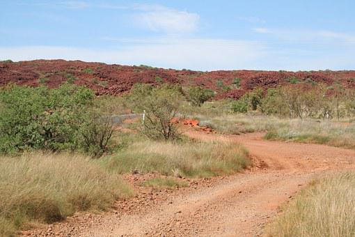 Karratha, Track, Pilbara, Road To Nowhere