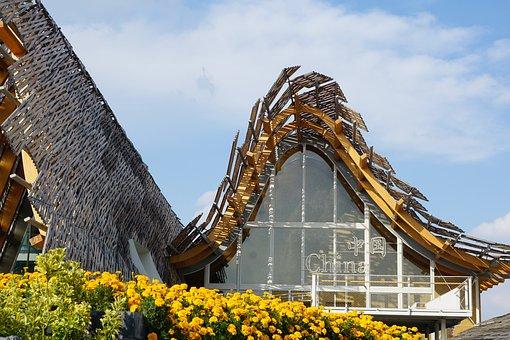 Expo, Architecture, Milan, Modern, World's Fair, China