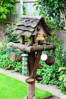 Bird Table, Feeding Station, Bird Food, Garden, Feeder
