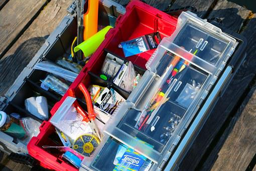 Fishing Accessories, Container, Plastic, Fisheries Were