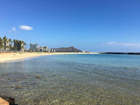 Diamond Head, Hawaii, Ahi, Waikiki, Hawaiian, Honolulu