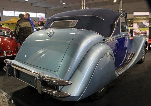 Oldtimer, Jaguar Mk V, Tailfin, Old Car, Rarity