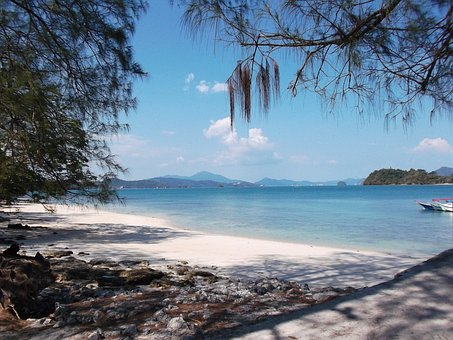 Beach, Langkawi, Malaysia, Relaxation, Ocean, Nature