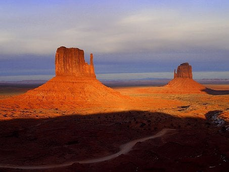 Monument Valley, Arizona, Usa, Route 66, Loneliness