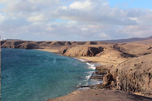 Mahdia, Tunisia, Beach, Sea, Sky, Mediterranean, Nature