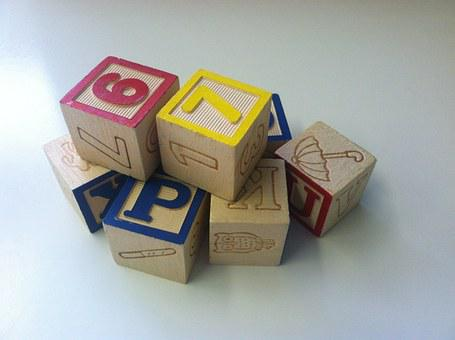 Building Blocks, Toys, Play, Cubes, Dices, Wooden