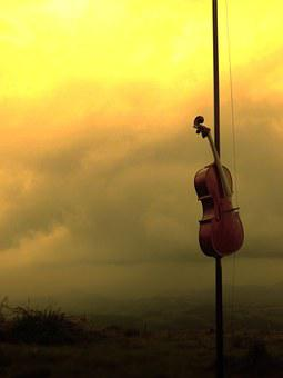 Music, Musical Instrument, Guitar, Rays