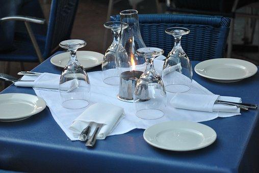 Restaurant, Table, Setting, Dinner, Meal, Dining