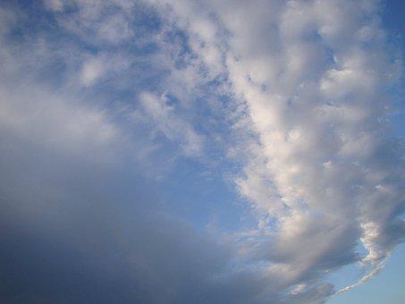Sky, Clouds, Vortex, Day