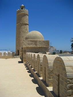 Ribat, Sousse, Fortress, Tunisia, Tower, Cupola, Wall