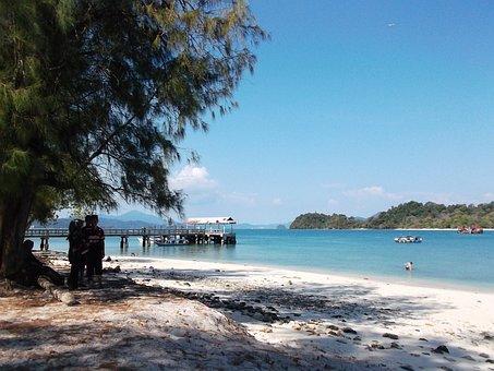 Beach, Langkawi, Malaysia, Nature, Ocean, Travel