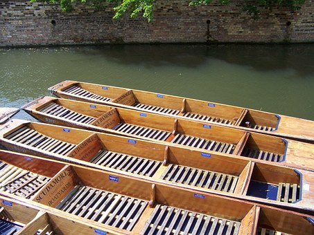 River, Boats, Punts, Water, Travel, Summer, Cruise