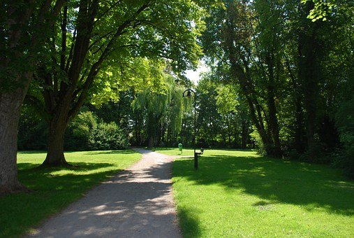 Park, Trail, Path, Peaceful, Shade, Outdoor, Trees
