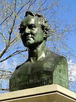 Alexander Humboldt, Monument, Central Park, New York