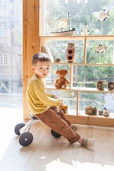 Children, Child Model, Studio, Laughter, Smile, Boys