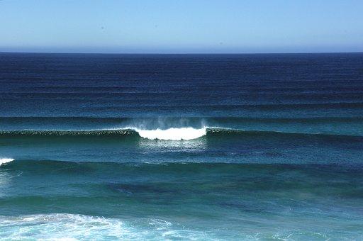 Surf, Breakers, Ocean, Waves, Seascape, Surfing, Sea