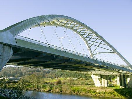 Bridge, Lugo, Rio Miño