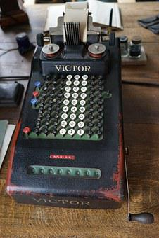 Calculating Machine, Nostalgic, Old, Nostalgia, Museum