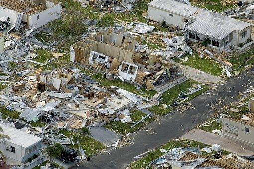 Hurricane, Devastation, Charley, Destruction, Disaster