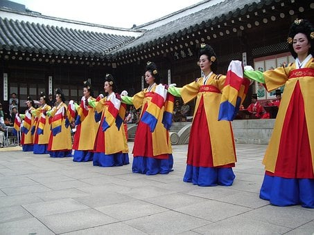 Korea, Dance, Temple, Tradition, Culture, Asia, Asian