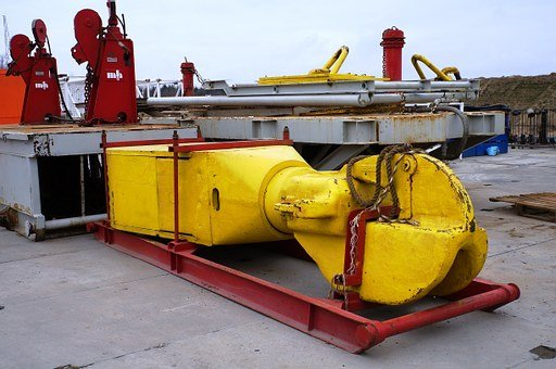 Drilling Rig, Shale Gas, Drilling Hook, Natural Gas