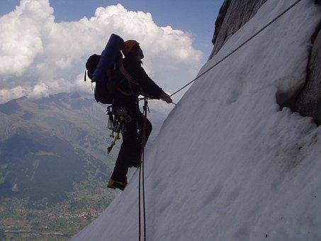 Eiger, North Wall, Climb, Hinterstoiser, Traverse