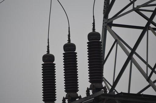 Insulator, Insulators, Voltage, High, Electricity
