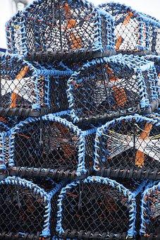 Crab Pot, Fishing, Pot, Trap, Marine, Net, Crabbing