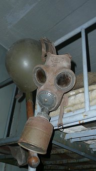 Helmet, Gas, Mask, Military, Symbol, Czech, Republic