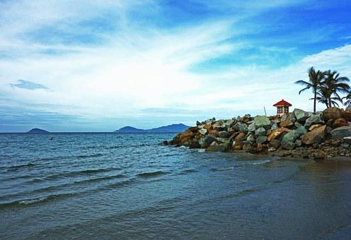 Coast, Shore, Ocean, Water, Travel, Sky, Horizon