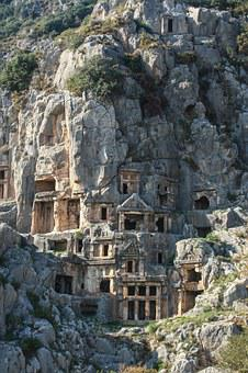 Myra, Rock, Nicholas, Apartments, Ancient Times