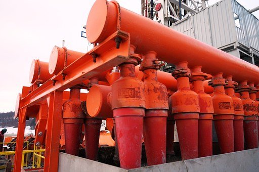 Drilling Rig, Shale Gas, Desilter, Natural Gas