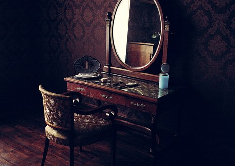 Old Room, Mirror, Interior, Vintage, Furniture, Classic