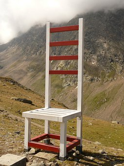 Chair, Seat, Rest, Oversized, Plus Size, Timmelsjoch