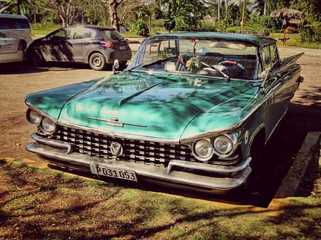 Car, Buick, Old Car, Retro, Cuba, Road Cruiser
