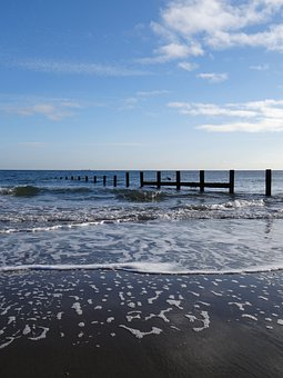 Sea, Waves, Foam, Beach, Ripples, Delicate Foam