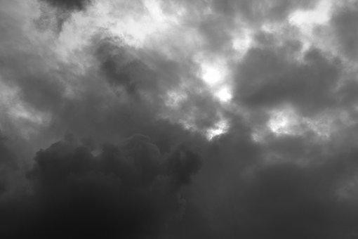 Dark Clouds, Clouds, After The Storm, Dark, Sky, Rain