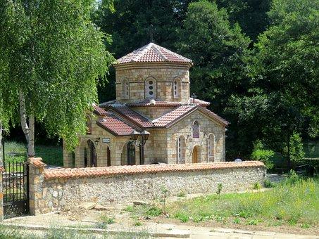 Small Chapel, Landscape, Albania