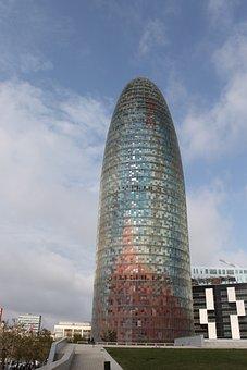 Barcelona, Diagonal, Architecture, Jean Nouvel