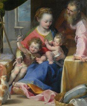 Art, Oil Painting, Federico, Barocci