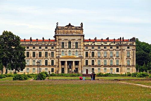 Ludwigslust-parchim, Castle, Building, Barockschloss