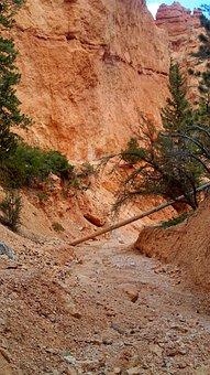 Bryce Canyon, Rock Formation, Erosion, Utah, Sandstone