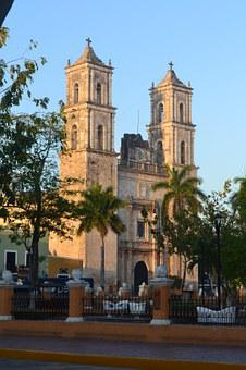 Valladolid, Architecture, Church, Mexico, Christianity