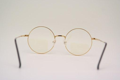Glasses, Fluke-angel Therapy, Glasses Glass, Golden