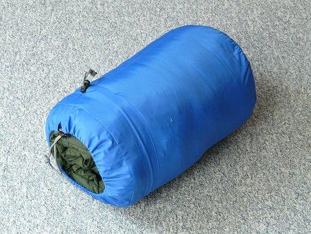 Sleeping Bag, Sleep, Rest, Heat, Packed, Sleeve, Travel