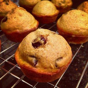Pumpkin Pie, Muffins, Food, Sweet, Snack, Homemade
