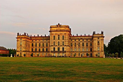 Castle, Ludwigslust-parchim, Castle Park, Barockschloss