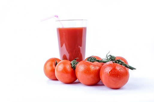 Tomato, Isolated, Vegetarian, Meal, Ripe, Natural