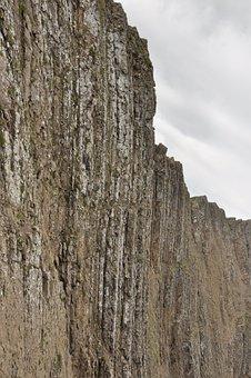 Cliff, Basalt, Mountain, Steep, Rock Formation, Erosion