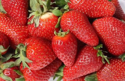Strawberries, Fruit, Mature, Red, Sweet, Food
